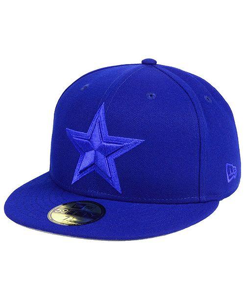 f59537d1b79 New Era Dallas Cowboys Basic Fashion 59FIFTY FITTED Cap - Sports Fan ...