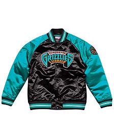 Mitchell & Ness Men's Vancouver Grizzlies Tough Season Satin Jacket