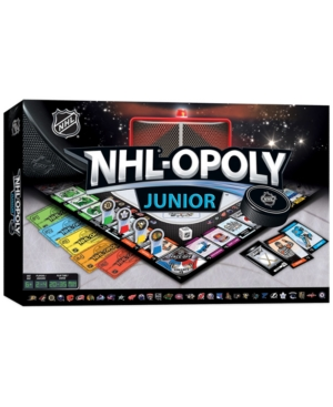 MasterPieces Puzzle Company NHLopoly Junior Game