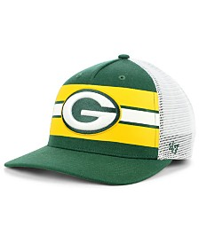 '47 Brand Green Bay Packers Team Stripe  MVP Cap