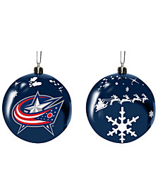 "Memory Company Columbus Blue Jackets 3"" Sled Glass Ball"