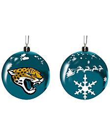 "Memory Company Jacksonville Jaguars 3"" Sled Glass Ball"