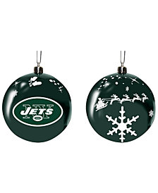 "Memory Company New York Jets 3"" Sled Glass Ball"
