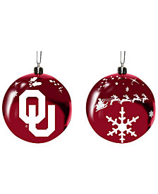 "Memory Company Oklahoma Sooners 3"" Sled Glass Ball"