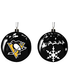 "Memory Company Pittsburgh Penguins 3"" Sled Glass Ball"
