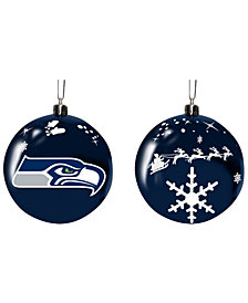 "Memory Company Seattle Seahawks 3"" Sled Glass Ball"