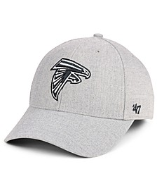 Atlanta Falcons Heathered Black White MVP Adjustable Cap