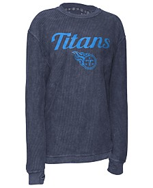 Pressbox Women's Tennessee Titans Comfy Cord Top
