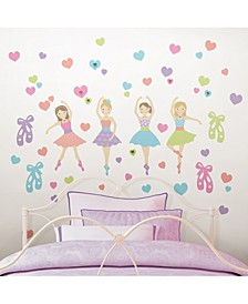 Prima Ballerina Wall Art Kit