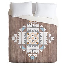 Deny Designs Iveta Abolina Cream Tribal Twin Duvet Set