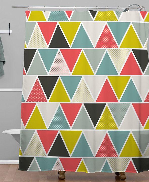Deny Designs Heather Dutton Triangulum Shower Curtain