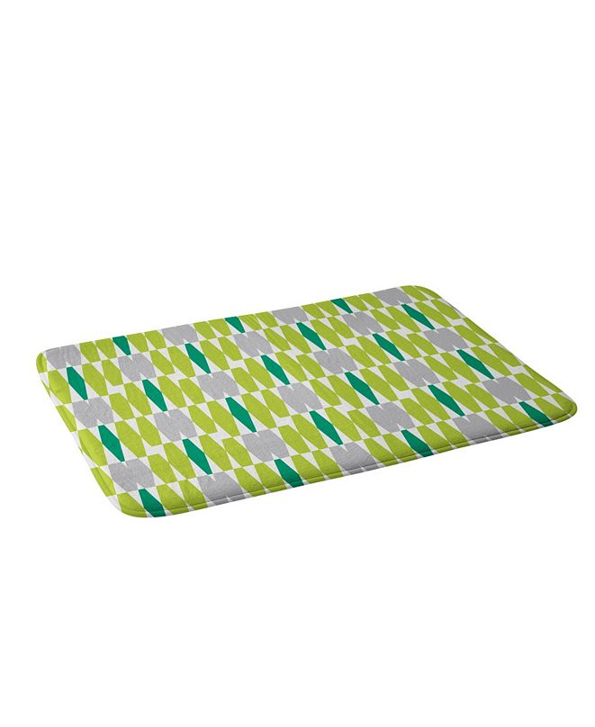 Deny Designs Heather Dutton Abacus Emerald Bath Mat