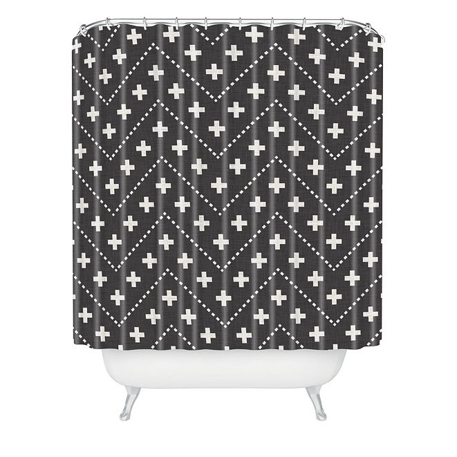 Deny Designs Holli Zollinger Dash And Plus Shower Curtain