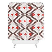 Holli Zollinger Native Rustic Shower Curtain