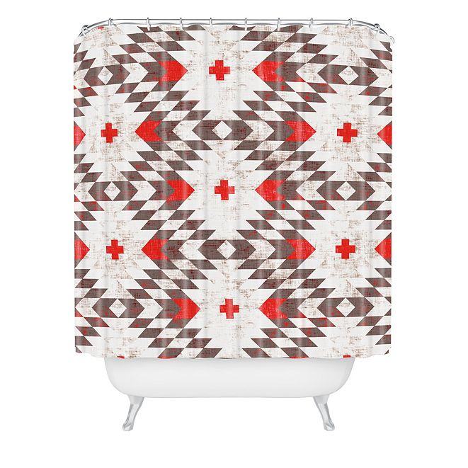 Deny Designs Holli Zollinger Native Rustic Shower Curtain