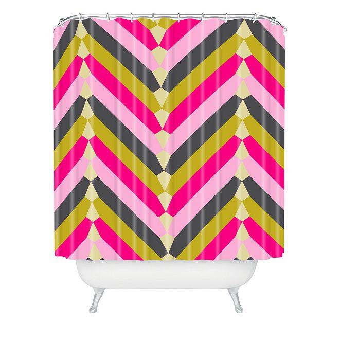 Deny Designs Holli Zollinger Gypsy Chevron Shower Curtain