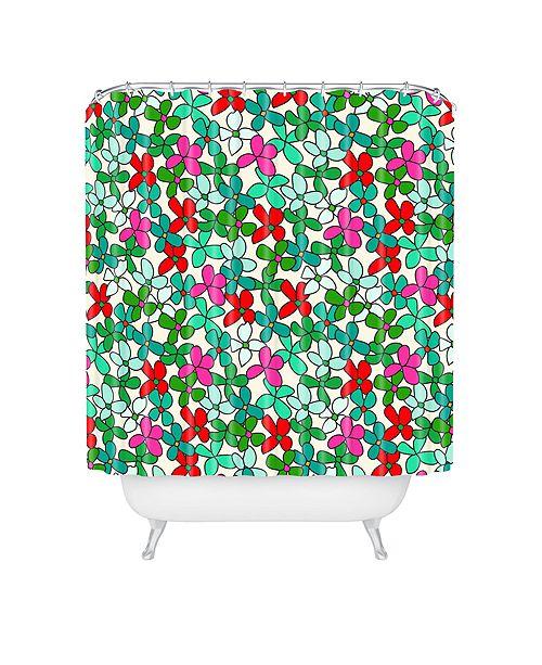 Deny Designs Holli Zollinger Bouquet Light Shower Curtain