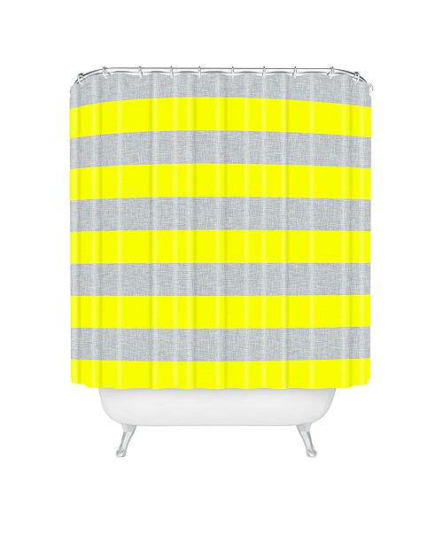 Deny Designs Holli Zollinger Bright Stripe Shower Curtain