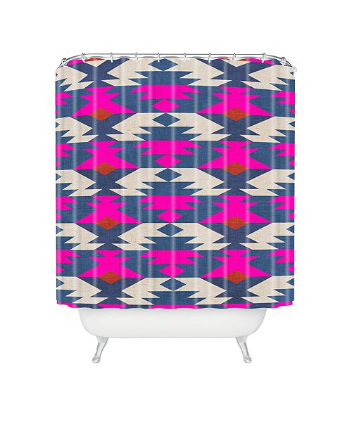 Deny Designs Holli Zollinger Diamond Kilim Shower Curtain
