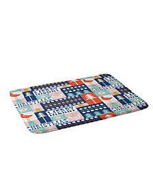 Deny Designs Heather Dutton Christmas Collage Chill Bath Mat