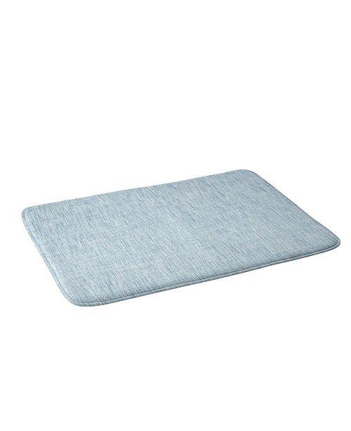 Deny Designs Holli Zollinger Linen Acid Wash Bath Mat
