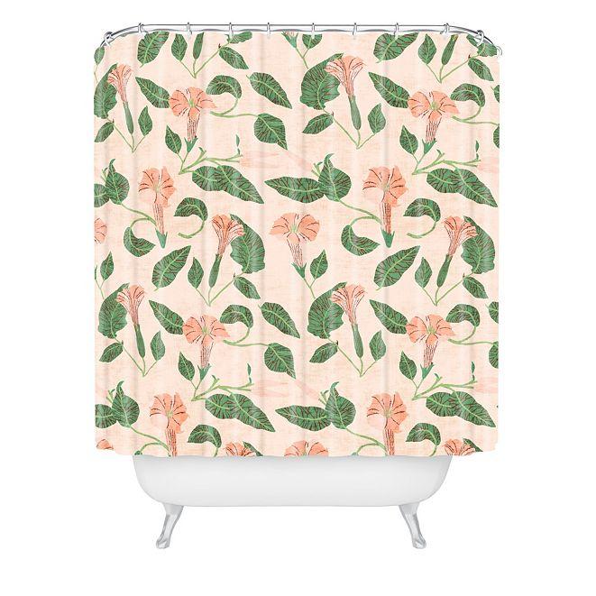 Deny Designs Holli Zollinger Desert Moonflower Shower Curtain