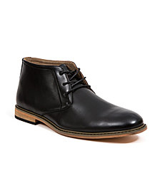 Deer Stags Men's James Memory Foam Dress Comfort Classic Chukka Boot