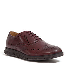 Deer Stags Men's Benton Memory Foam Classic Lace-up Wingtip Hybrid Sneaker Dress Comfort Brogue