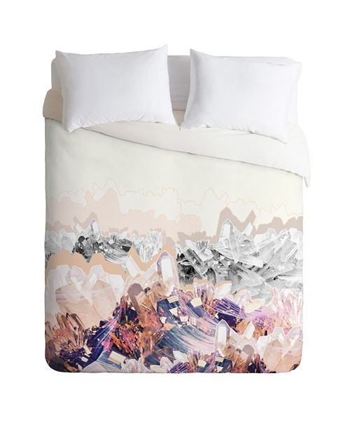 Deny Designs Iveta Abolina Crystal Valley Twin Duvet Set