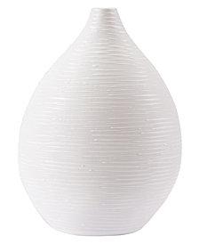 Hat Lg Vase White