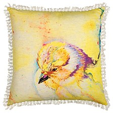 """Mariah Parris 20"""" x 20"""" Animal Print Poly Filled Pillow"""