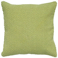 "Rizzy Home Solid Green 20"" X 20"" Poly Filled Pillow"