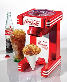 Nostalgia Coca-Cola Single Snow Cone Maker