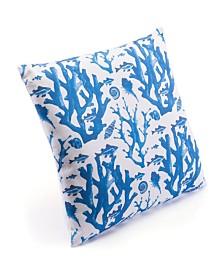 Zuo Blue Reef Pillow