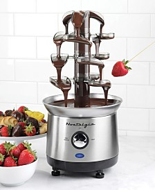 Nostalgia 2-Pound Stainless Steel Cascading Fondue Fountain