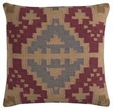 "Rizzy Home 20"" x 20"" Southwest Poly Filled Pillow"