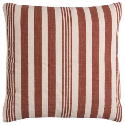 """24"""" x 24"""" Striped Poly Filled Pillow"""