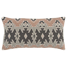 "Rizzy Home 11"" x 21"" Geometrical Design Poly Filled Pillow"