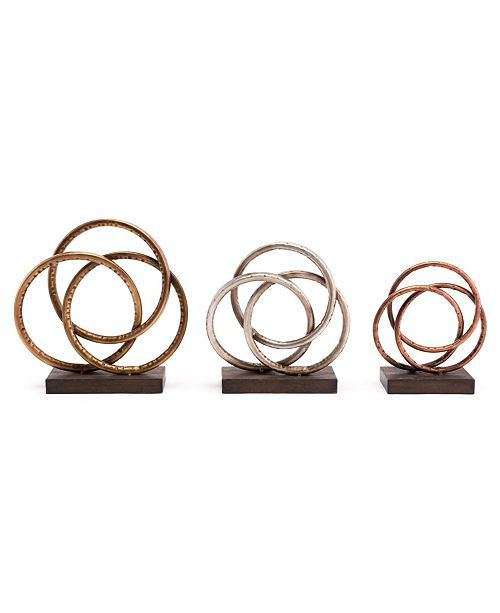Zuo Roses, Set Of 3
