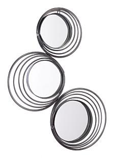 3 Sun Mirror Black