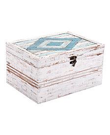 Rombo Antique Box White