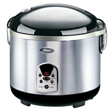 Oster Titanium Infused Duraceramic™ 20-Cup Digital Rice Cooker With Steam Tray