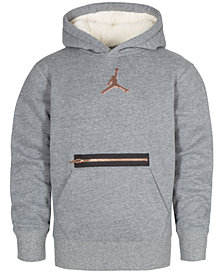 Jordan Big Boys Metal Man Hoodie