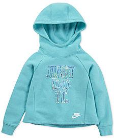 Nike Toddler Girls Futura Fleece Hoodie