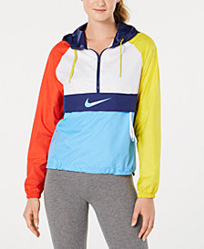 Nike Sportswear Packable Half-Zip Hooded Jacket