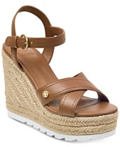 04423734cde3 GUESS Women s Genisi Espadrille Wedge Sandals