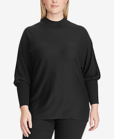 Lauren Ralph Lauren Plus Size Dolman-Sleeve Modal Sweater