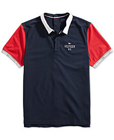Tommy Hilfiger Adaptive Men's Carl Polo Shirt with Velcro® Closure at Back