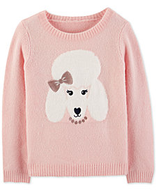 Carter's Little & Big Girls Poodle Sweater
