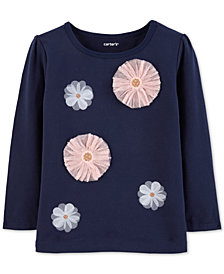 Carter's Toddler Girls Rosette Top